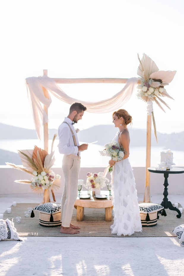 saying I do in greece