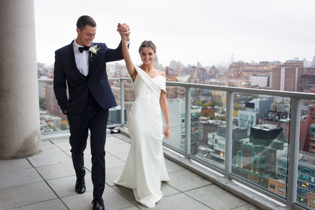 just married in New York