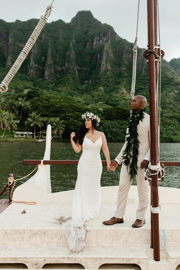 wedding boat tour