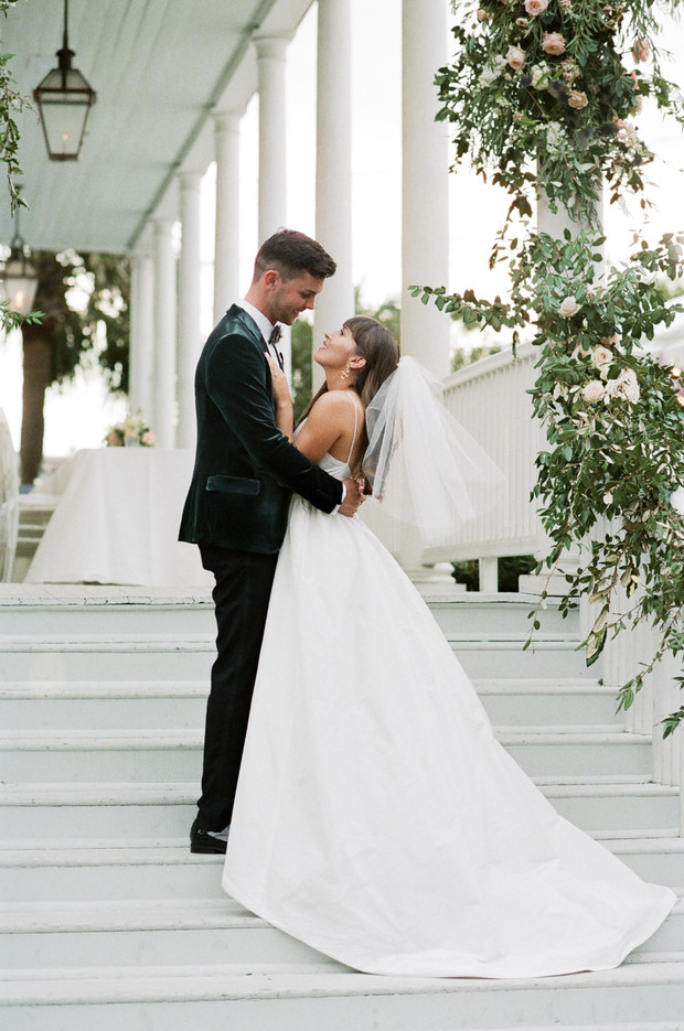 Have Yourself A Clean Southern Glam Wedding