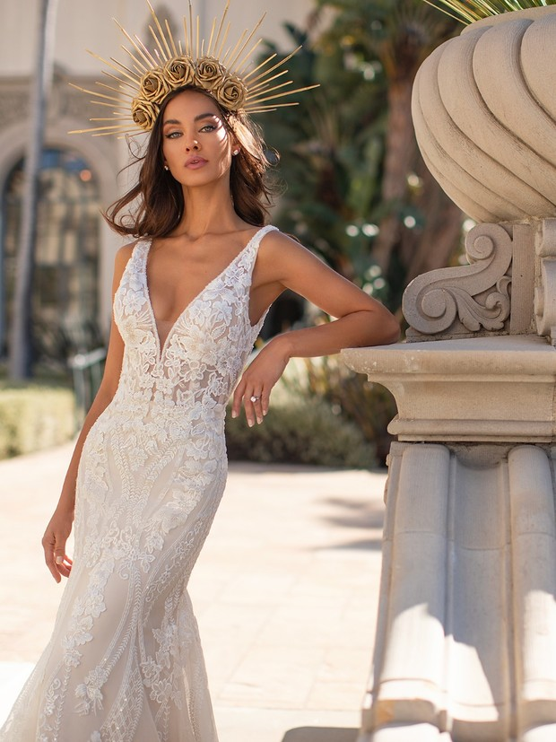 New Moonlight Bridal Couture Is So Glamorous We Literally Cannot