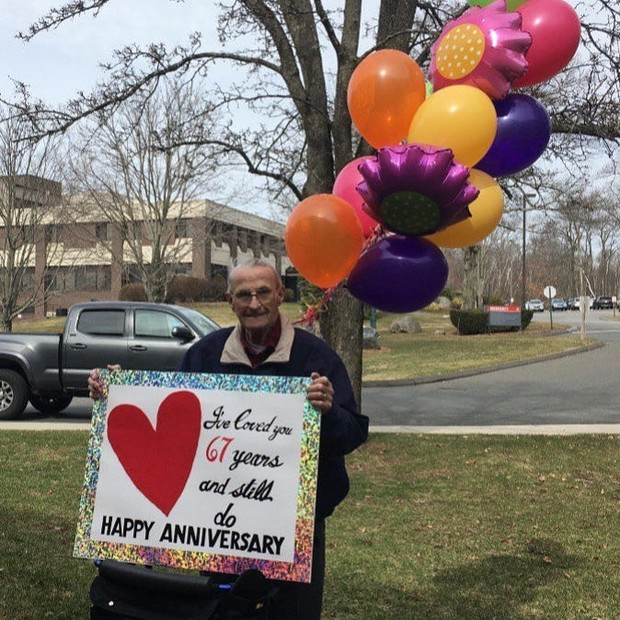 Coronavirus Couldn't Keep This Man From Honoring His 67-Year Love