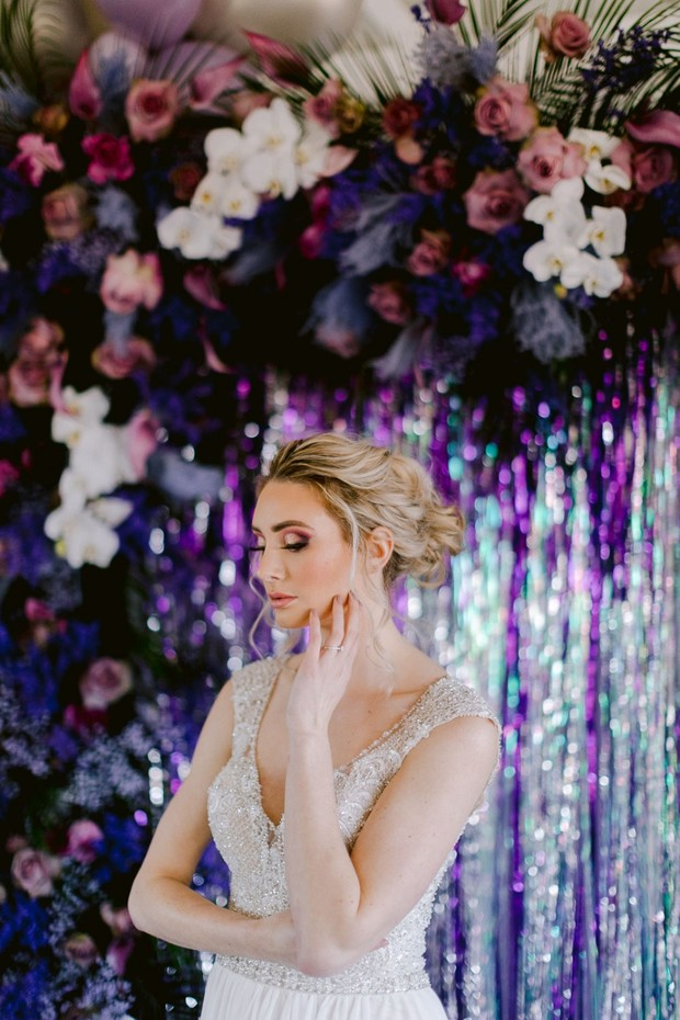 How to DIY a Fiercesome Floral Balloon Arch for Your Wedding