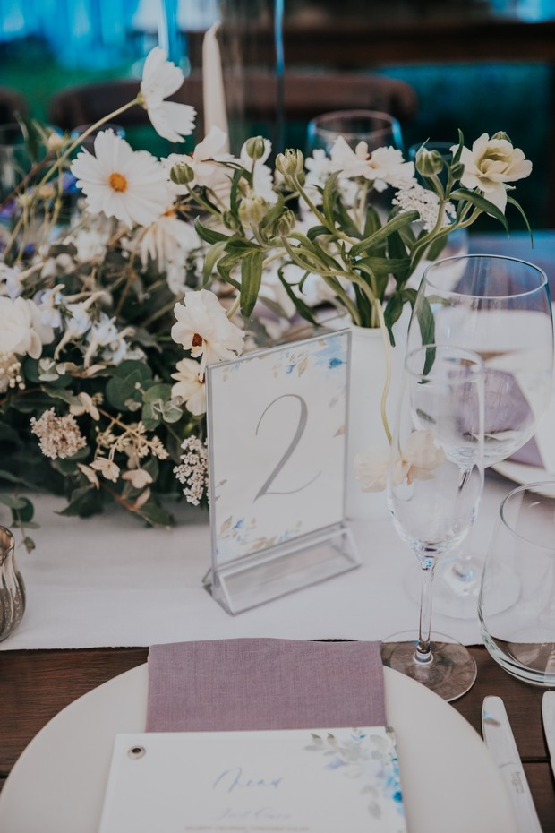 wasy table number idea