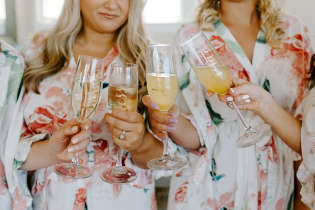 getting ready ideas for bridesmaids