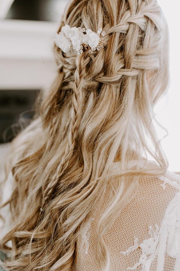 boho-chic wedding hair ideas
