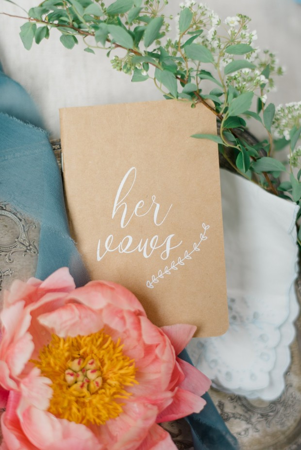 her vows wedding book
