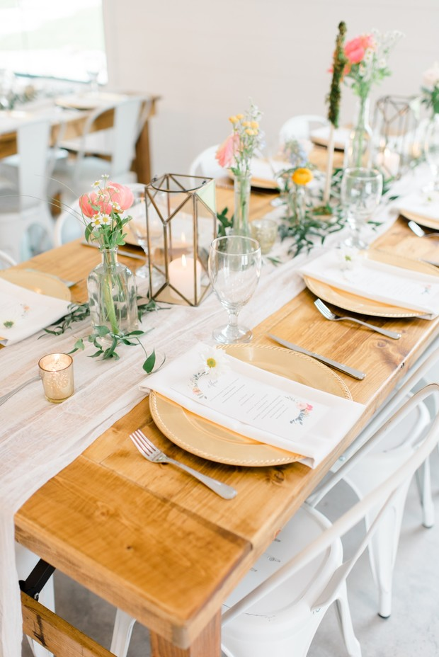 farm house wedding reception decor ideas