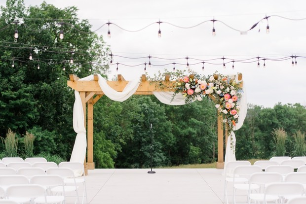wedding arbor decor ideas