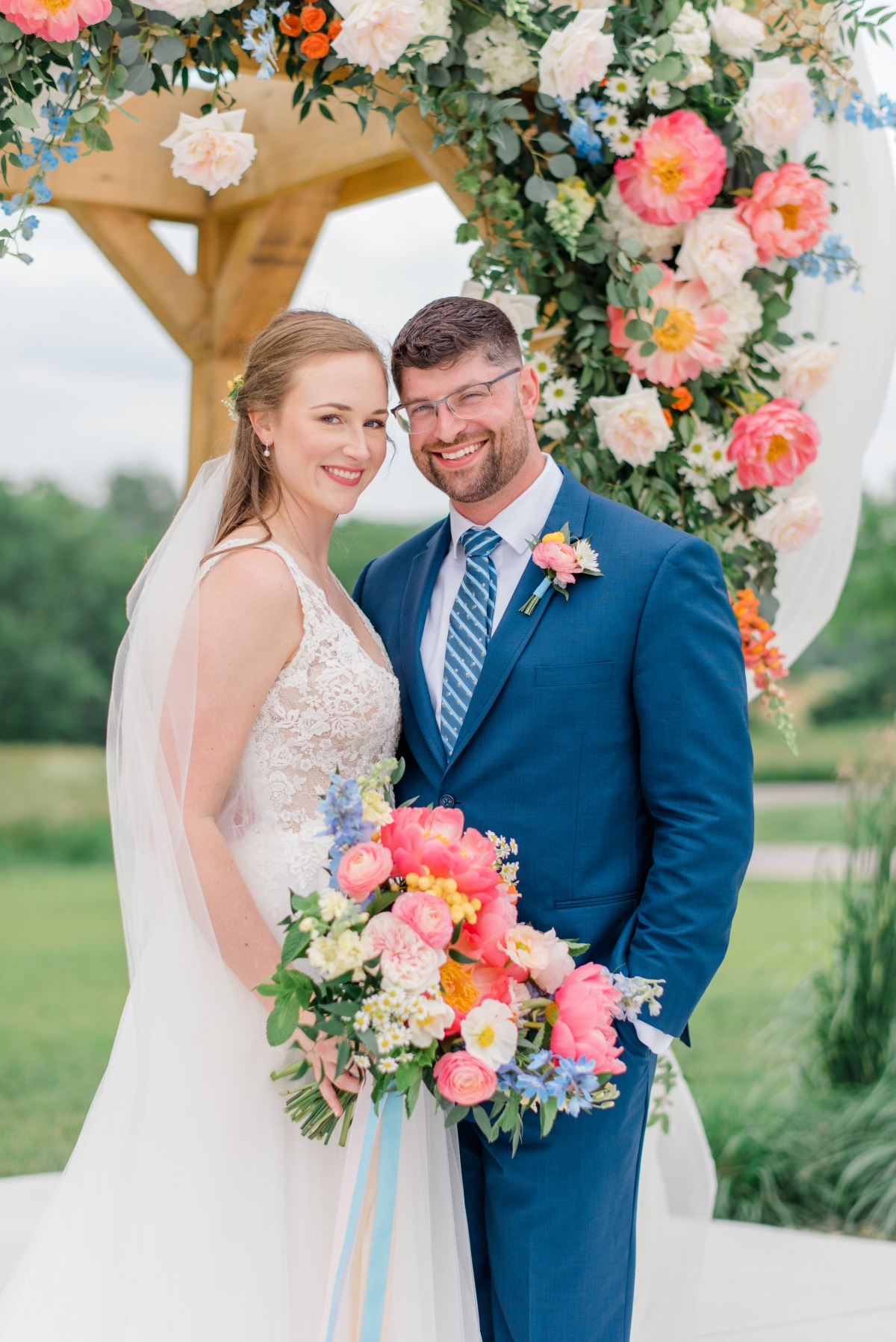 A Garden Wedding At The Wilds In Bloomington, IN