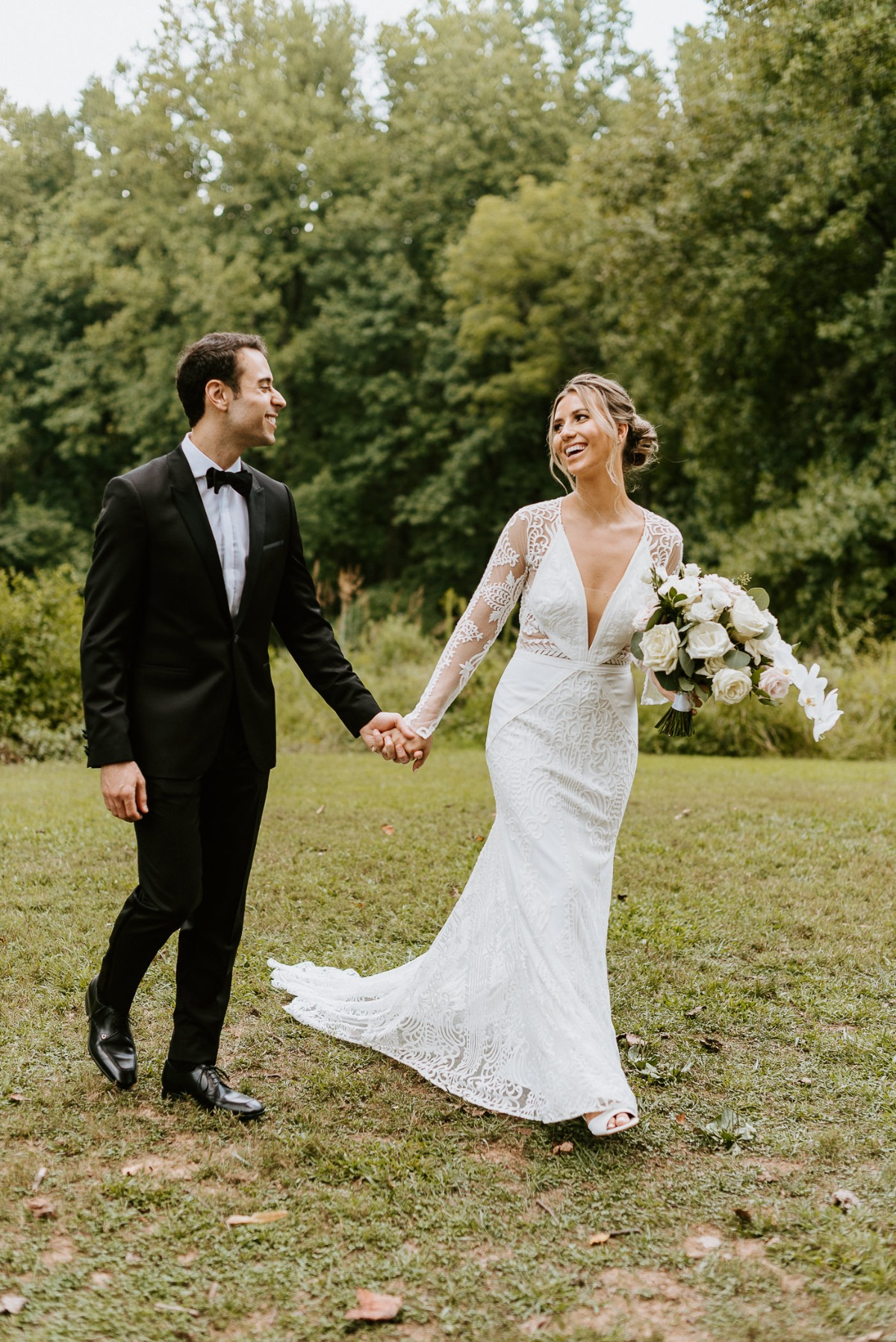 Lovers Society long sleeve wedding gown