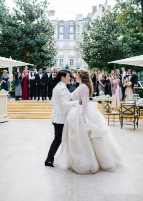 A Fashionista's Dream Wedding at The Hotel Ritz Paris