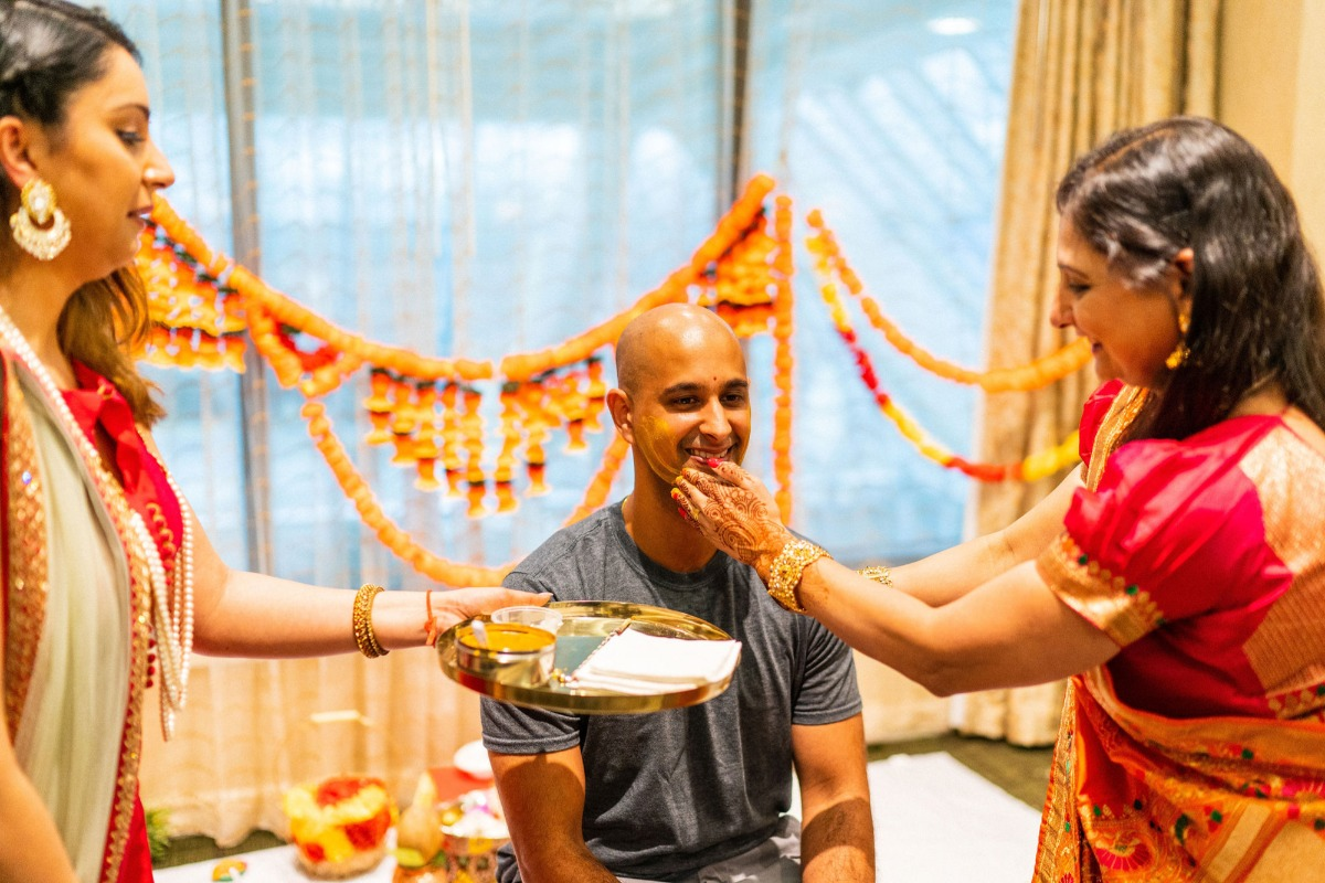 groom at Indian wedding traditions