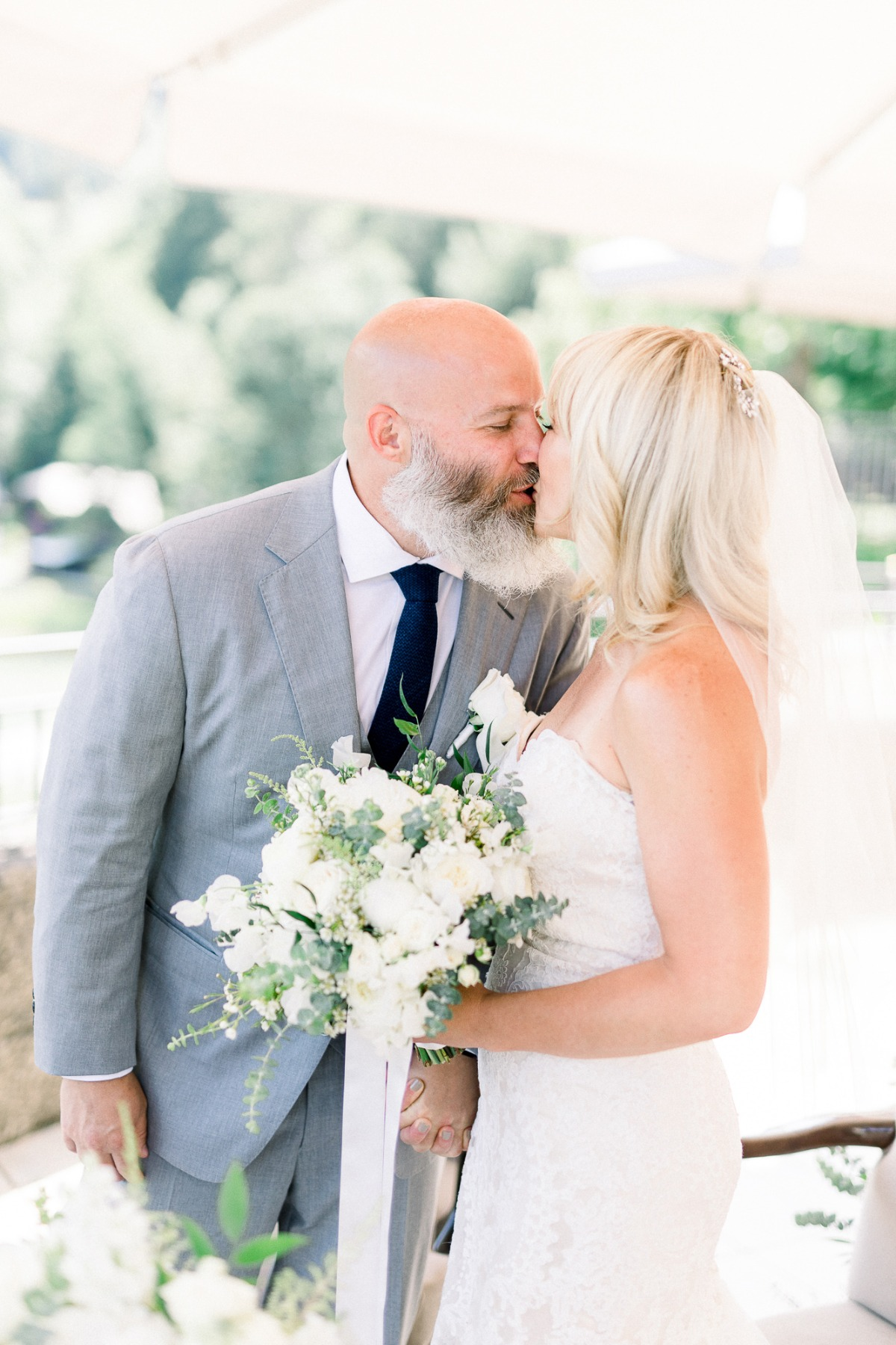 first kiss after just married in Austria