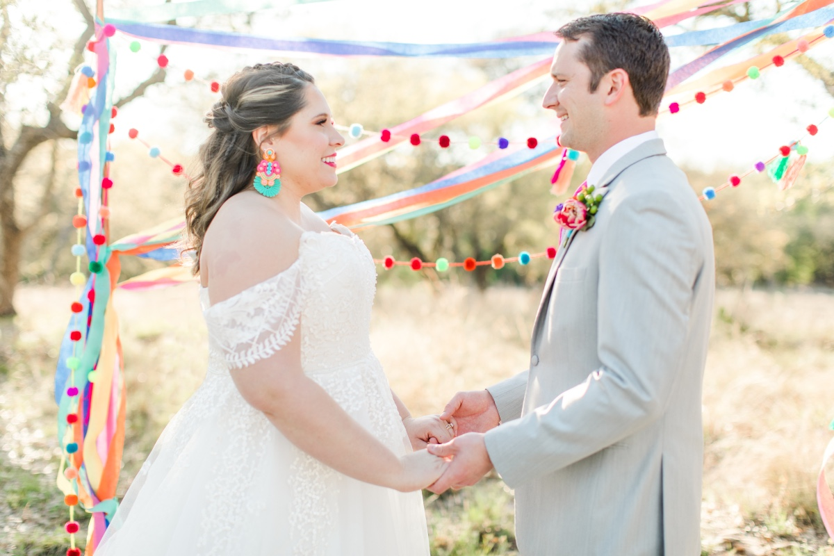 Fiesta themed wedding ceremony decor ideas
