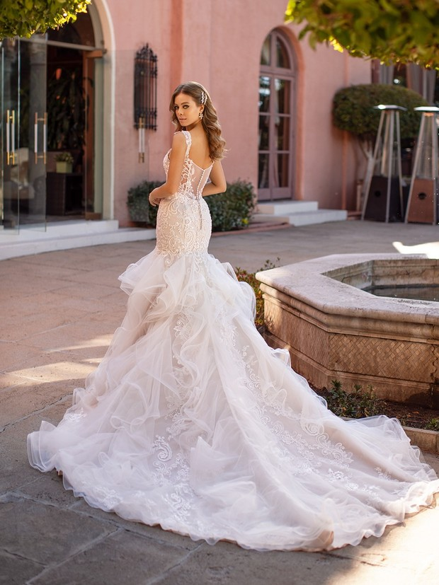 We Need This Brand New Lumiere Collection From Val Stefani Bridal