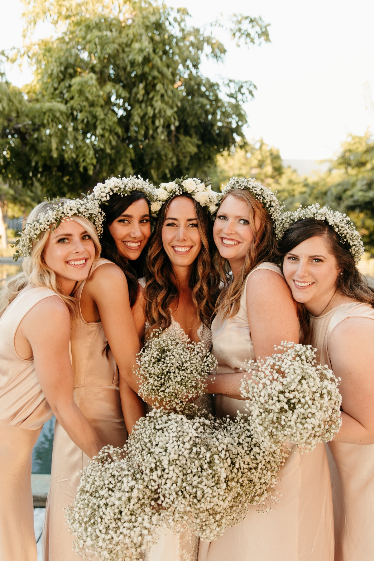 Baby's Breath Bouquets and Baby's Breath Flower Crowns