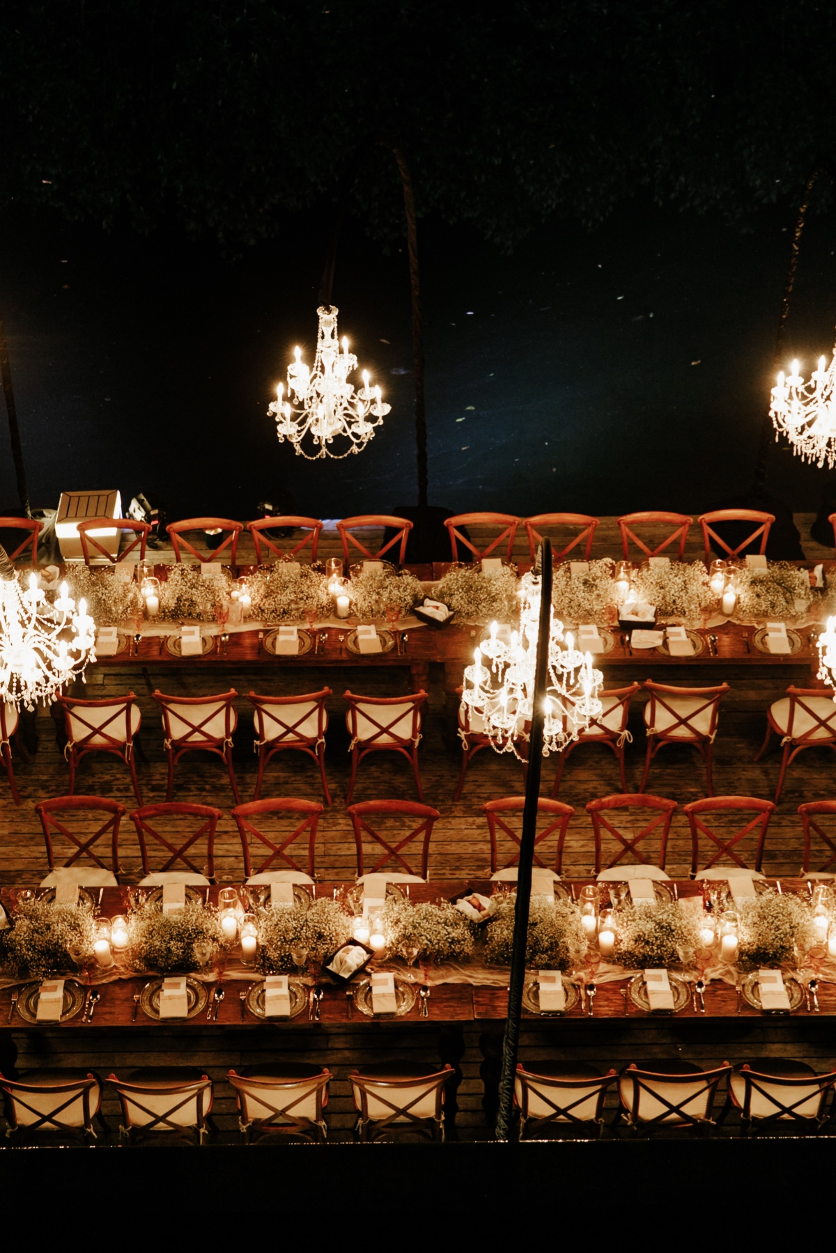 wedding lighting at Nizuc Resort and Spa