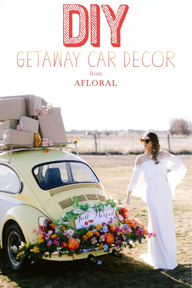 DIY GETAWAY CAR DECOR