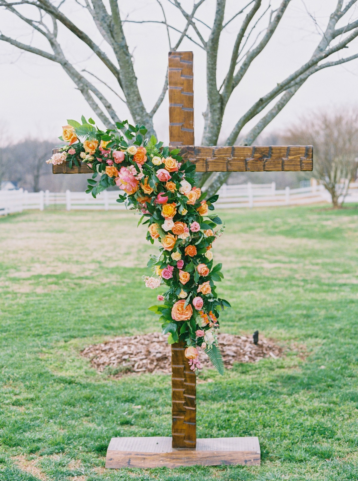decorated cross