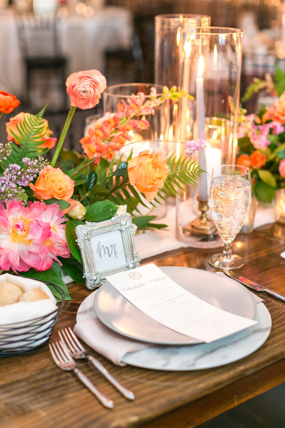 table setting ideas for weddings