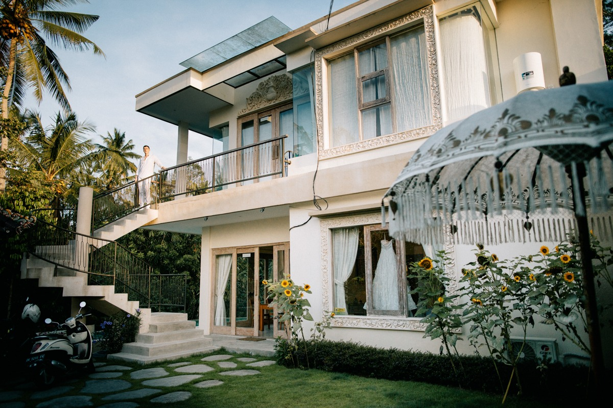 Bali house for rent for elopement