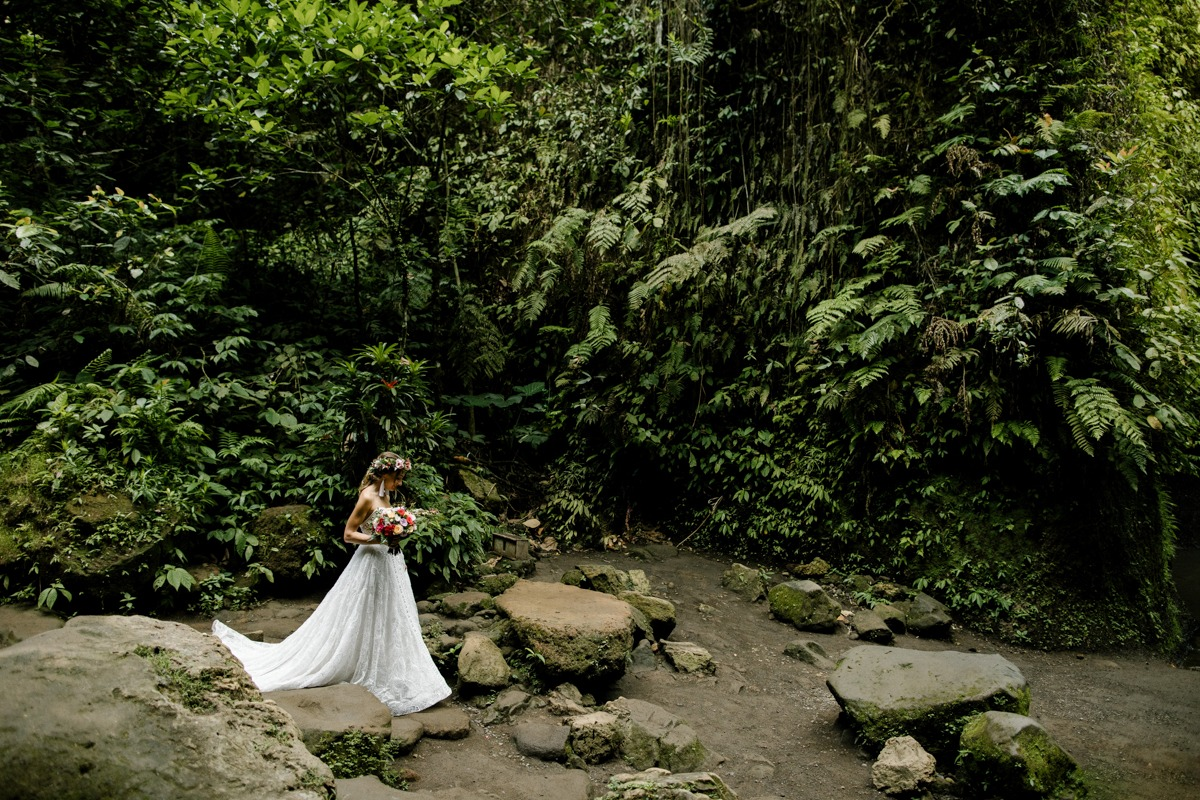 tropical forest Bail elopement
