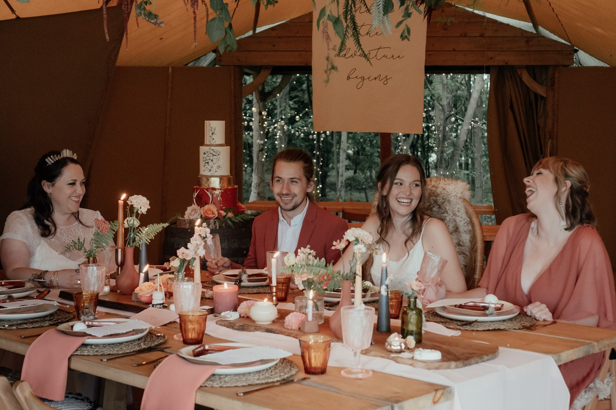 rustic wedding dinner ideas