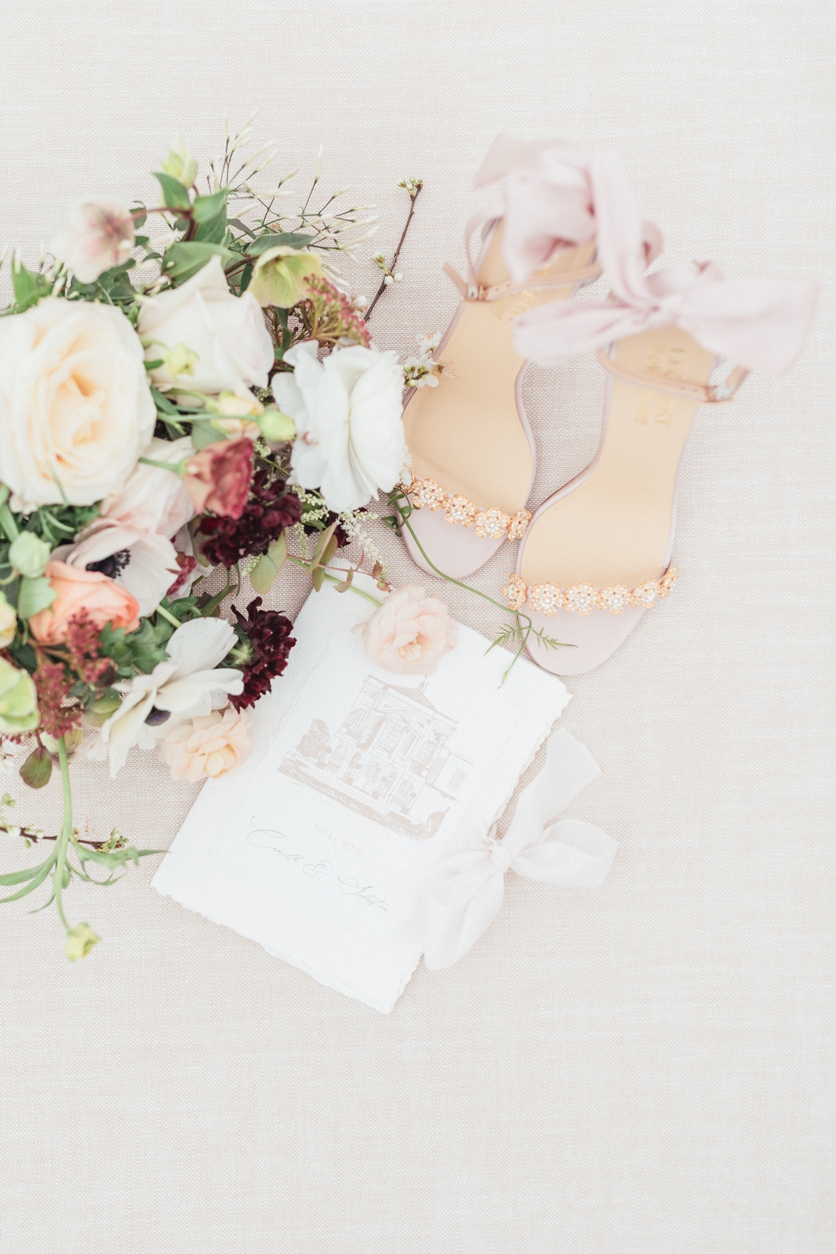 Bella Belle pink wedding shoes
