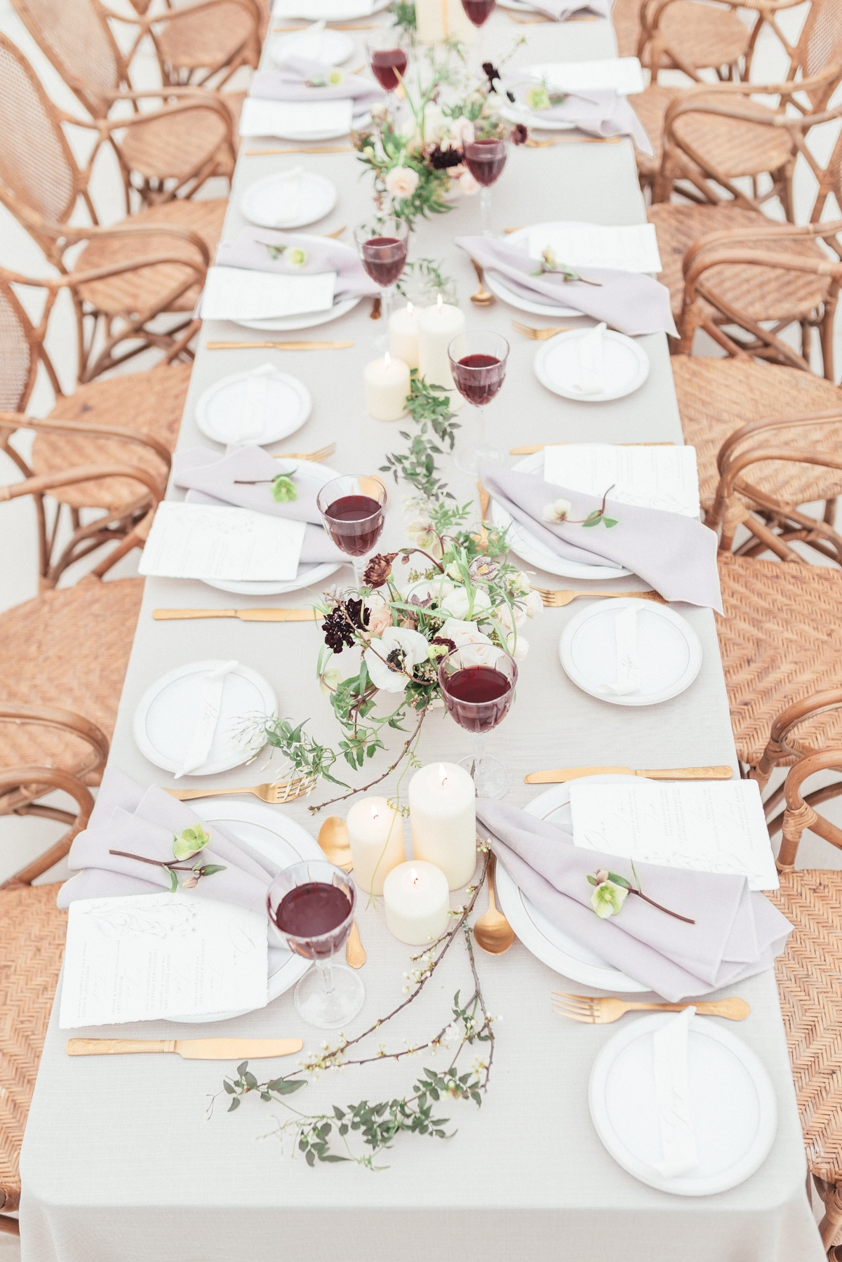 natural elegance wedding decor ideas
