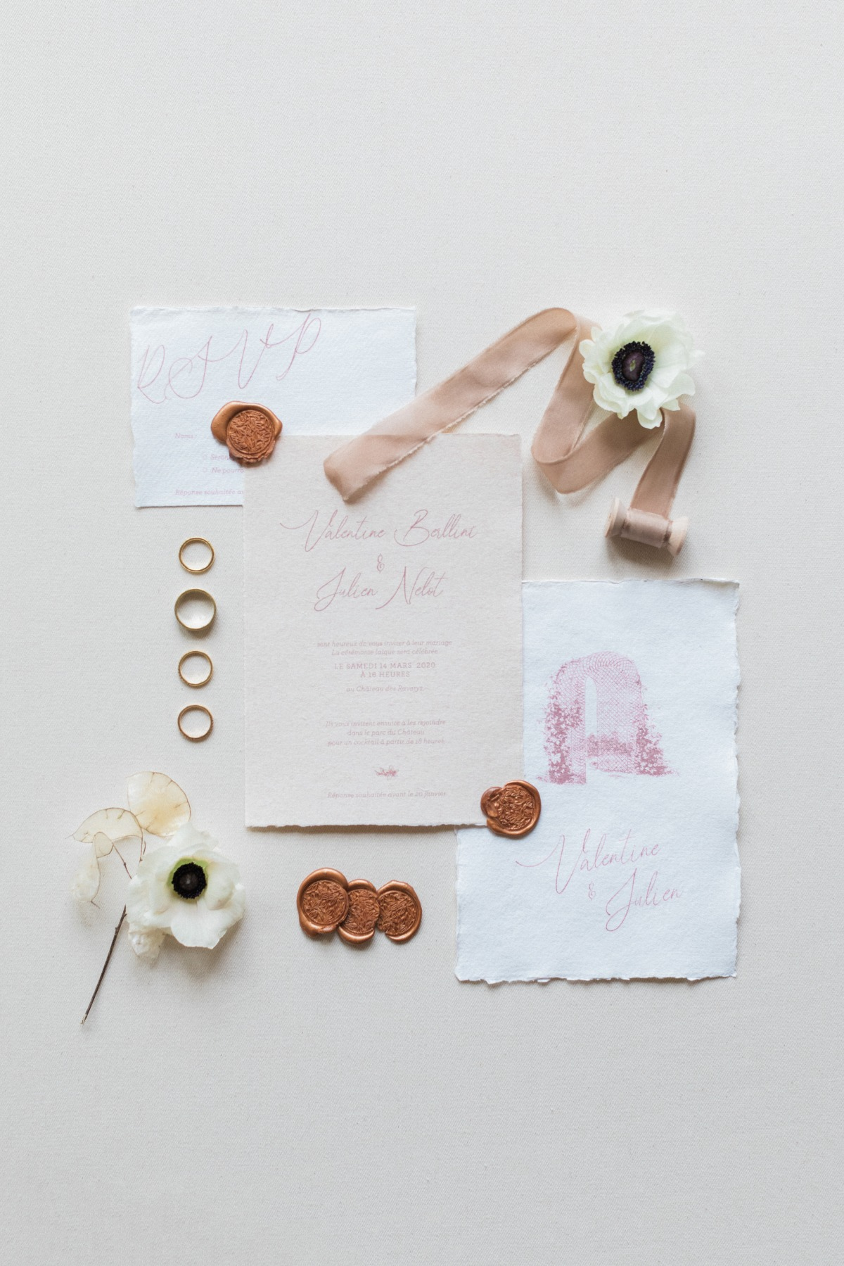 flat lay styling ideas