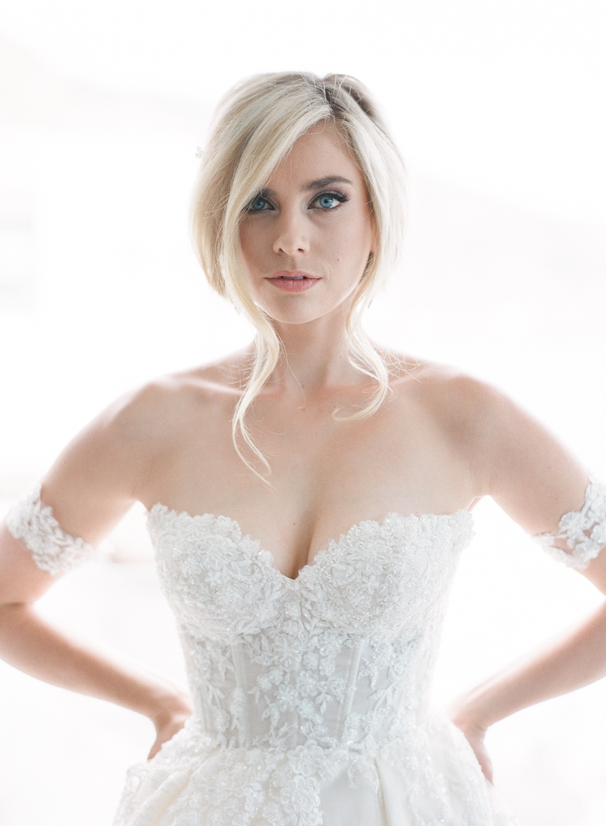 Megan from Lifetime's Marrying Millions.