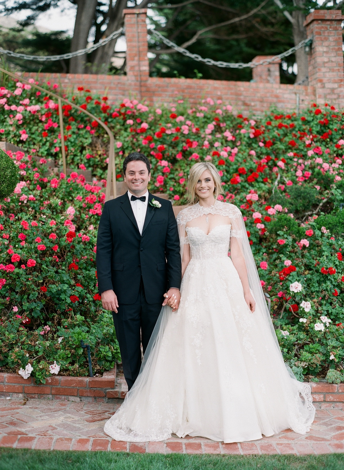 Megan and Sean, from Lifetime's Marrying Millions wedding