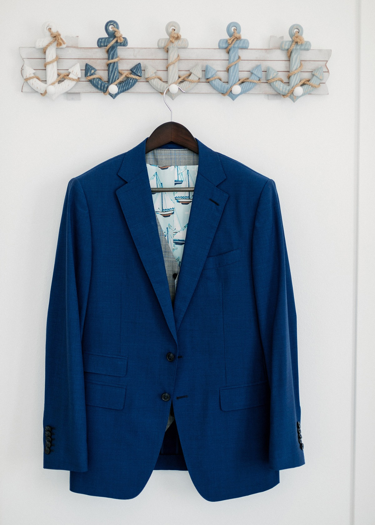 Custom groom suit