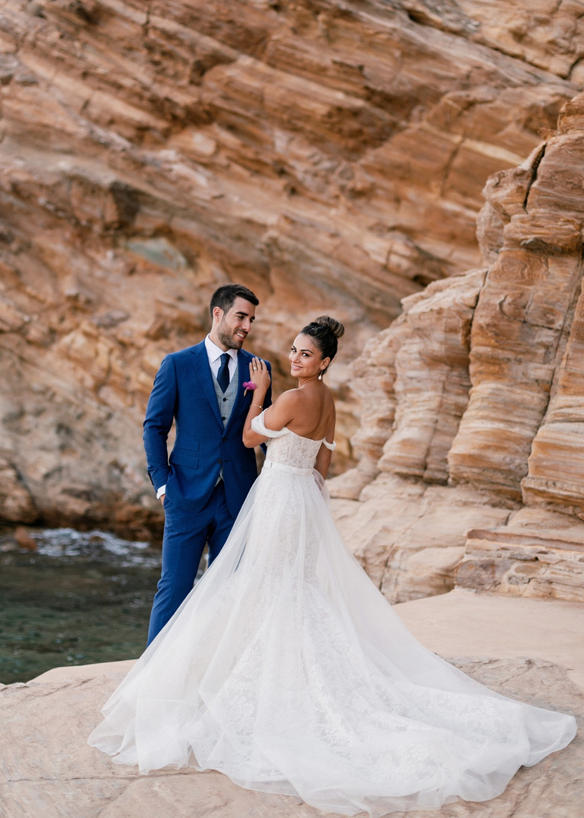 Greece wedding on the island of los