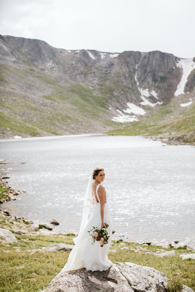 adventure wedding photograph