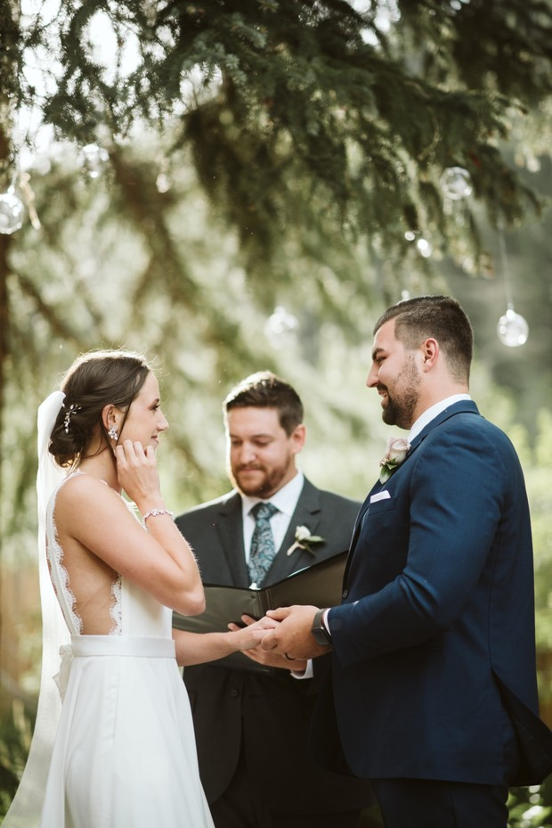 Blackstone Rivers Ranch wedding ceremony