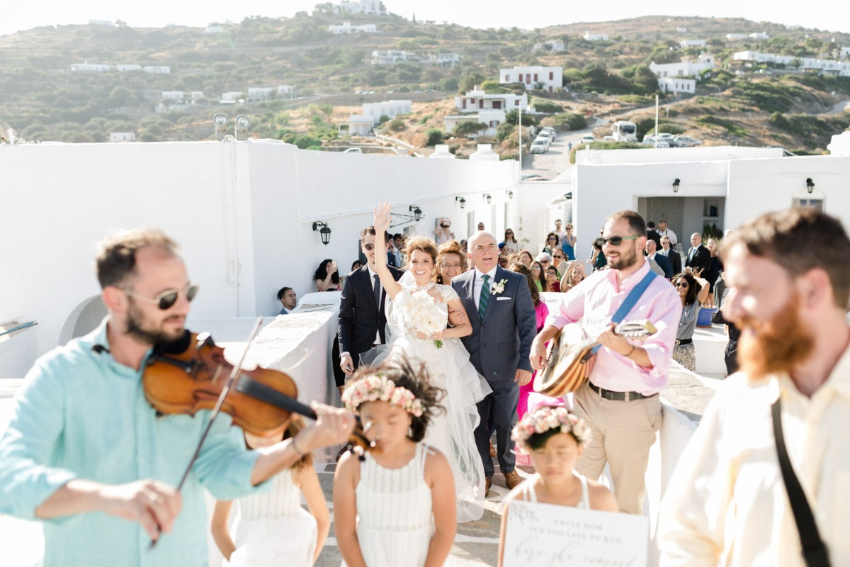 wedding at Chrysopigi Monastery in Sifnos