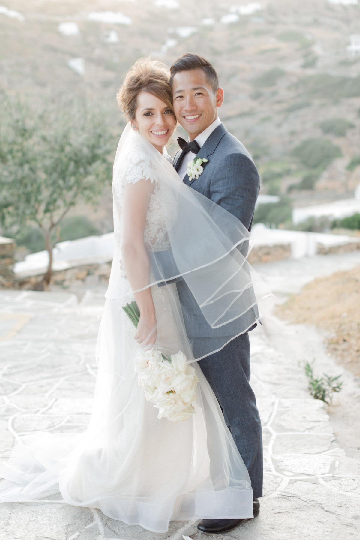 Katerina and Dominique's Greece wedding