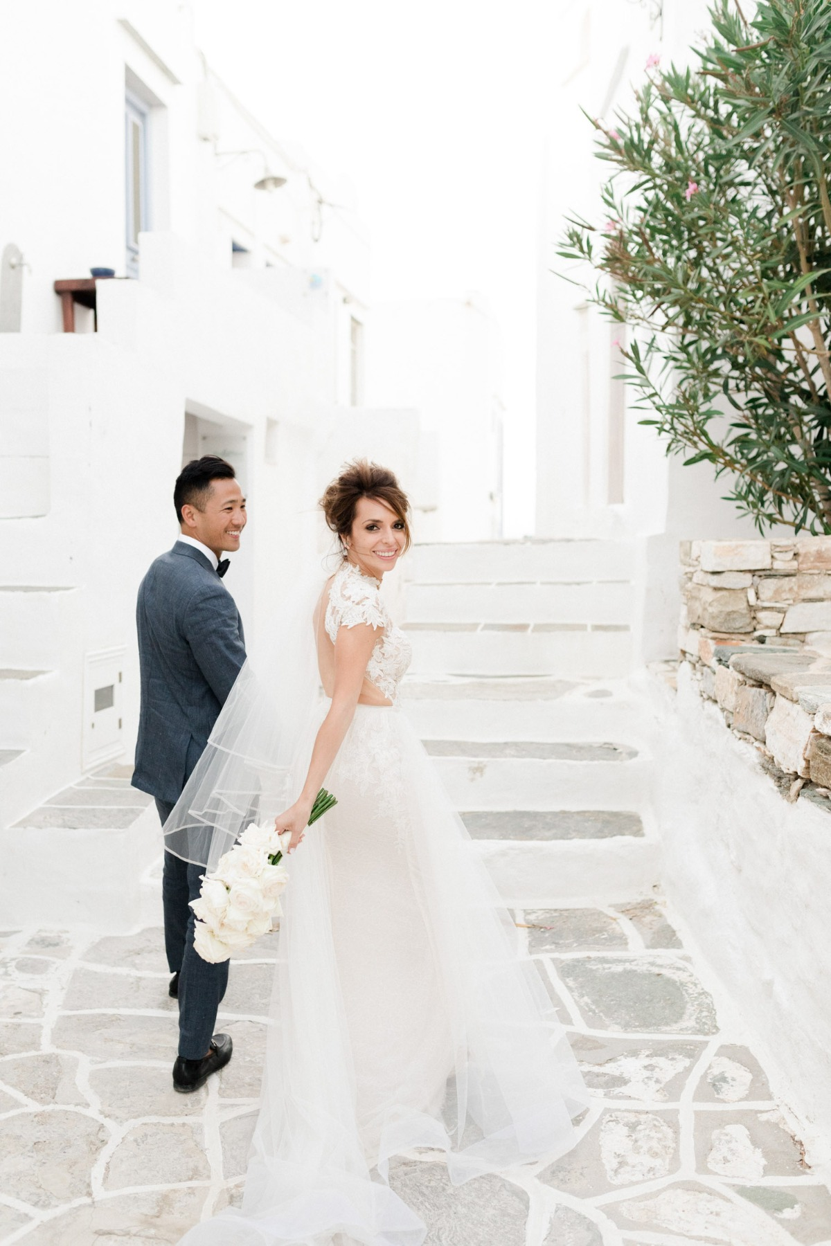 wedding portrait in Sifnos