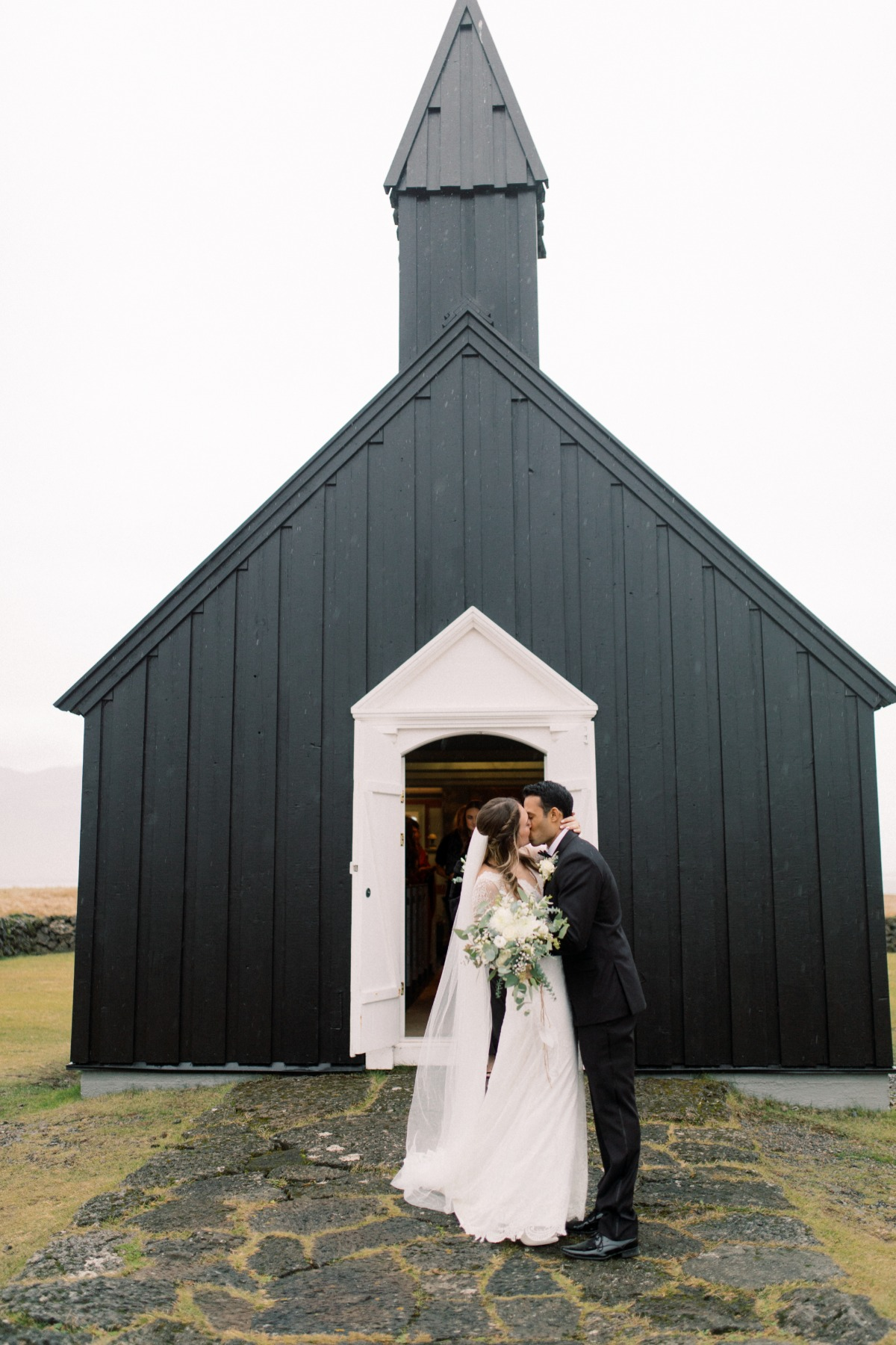 black church in Iceland