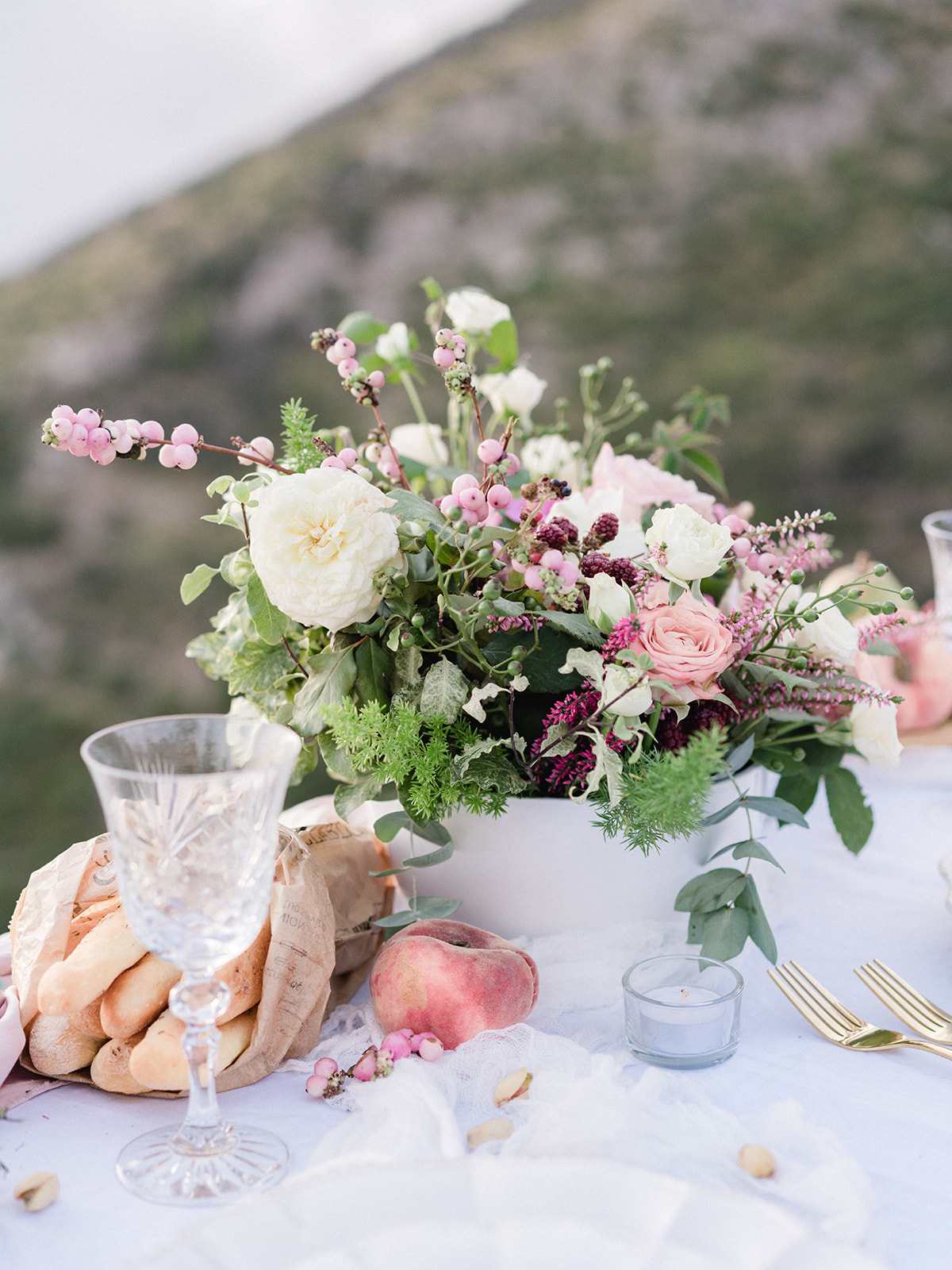 mountain top elopement designed by Amalfi Soirée