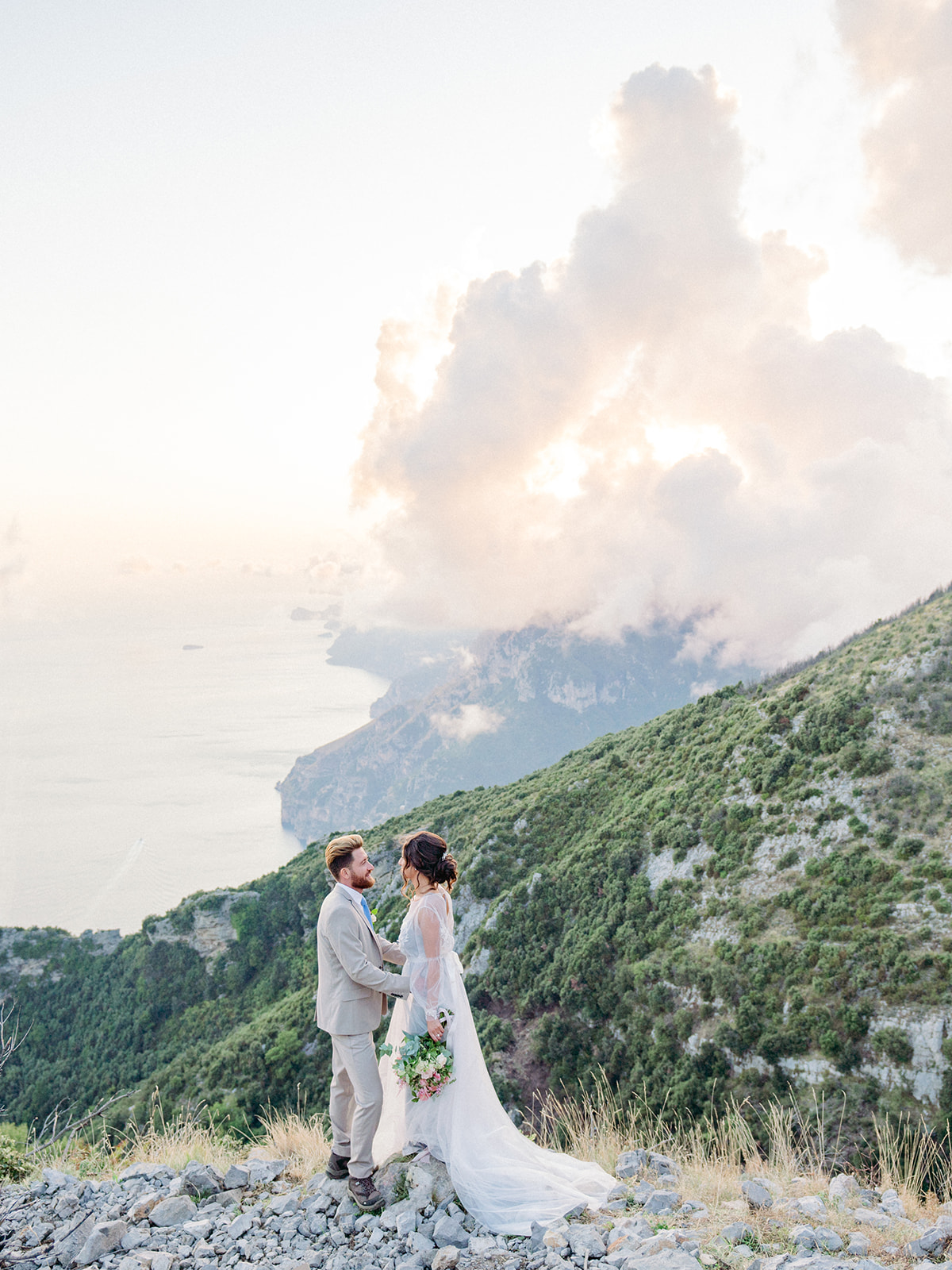 The Path of the Gods elopement