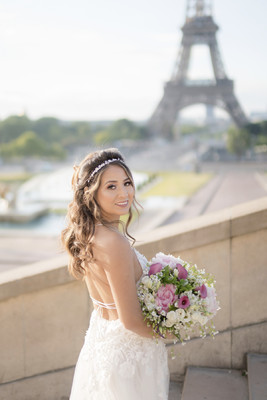 Mariela and Alex Eloped to Paris with Four Friends