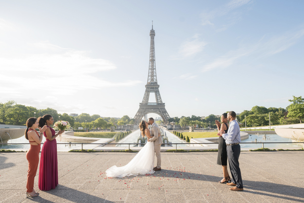 sunrise paris elopement