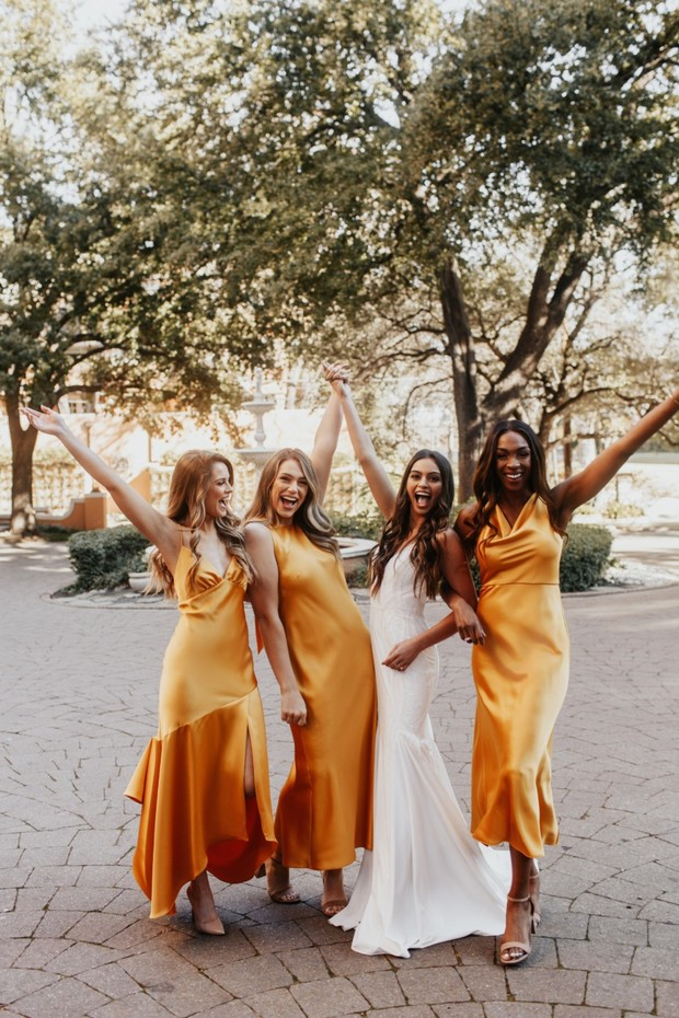 This Lovely Bride X Dessy Bridesmaid Dress Collaboration Is Too Cool