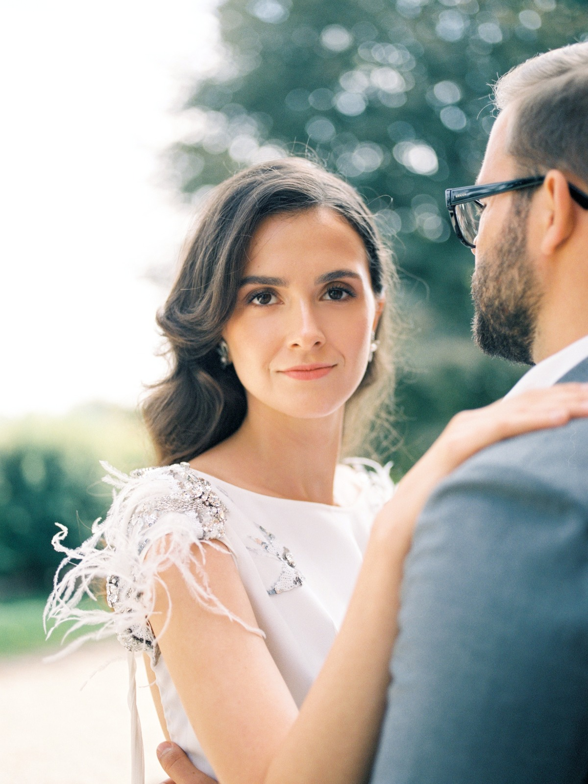flawless wedding hair and makeup