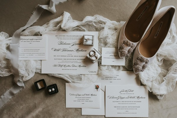 A Black and White Wedding In Arizona with Major Cinderella Vibes
