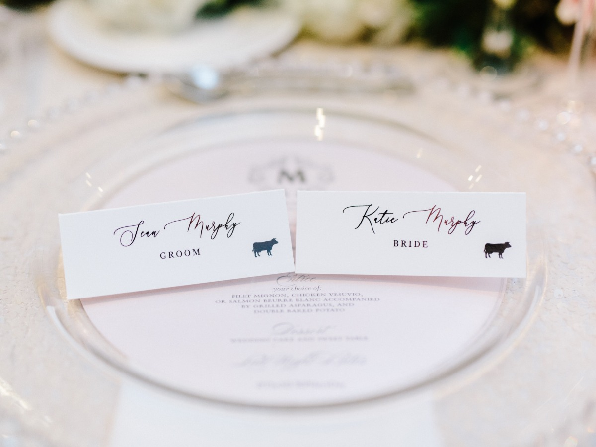 food escort cards