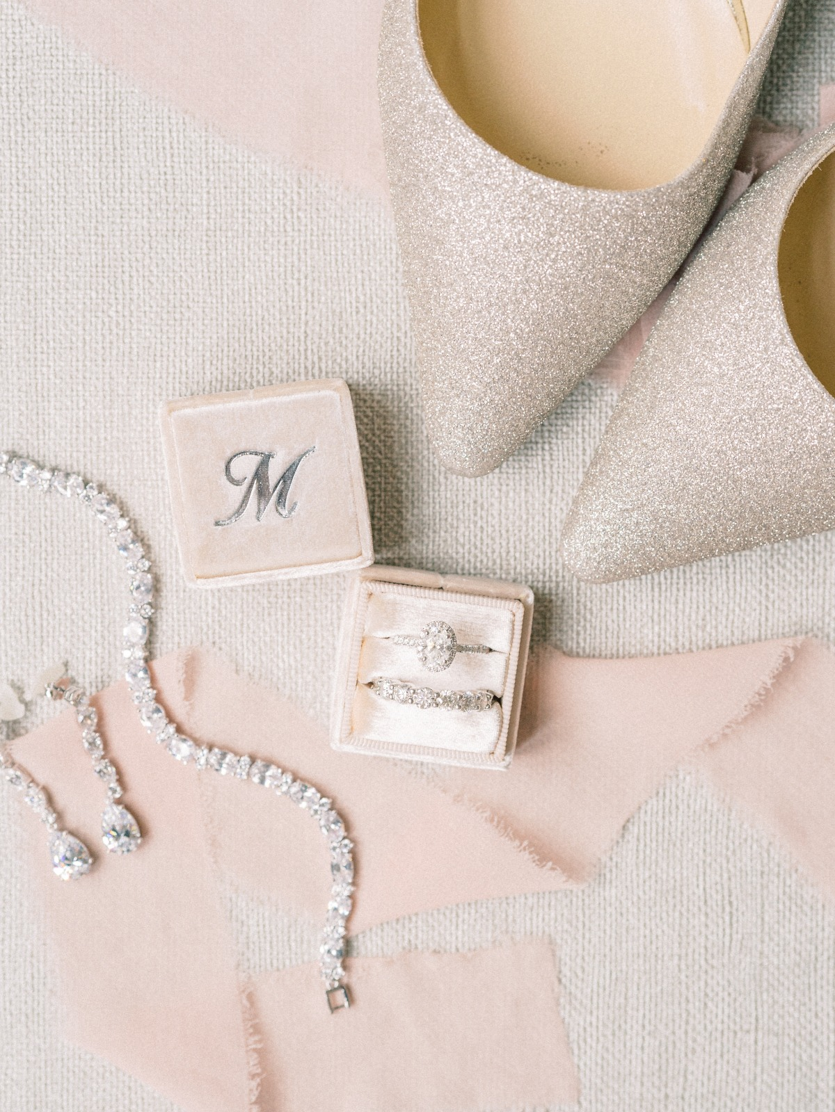flat lay wedding photograph ideas